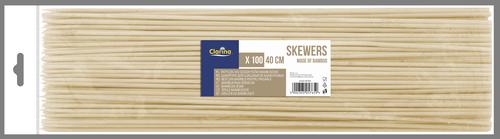 Patyczki do szaszłyków 40cm 100szt (5765)