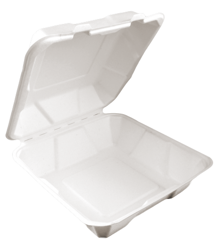 Lunch box kwadrat 1600ml 23cm 50 szt (5418)