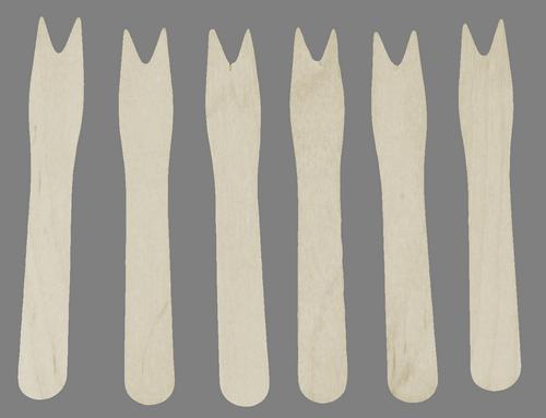 Widelczyk drewniany 1000 szt (5451)