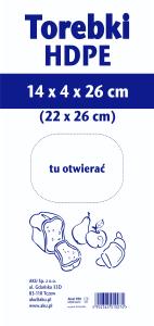 Woreczki wyciągane 26 cm
