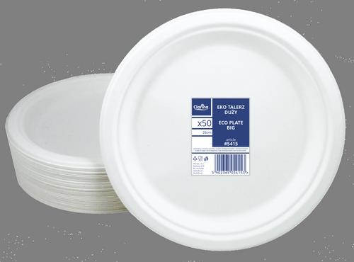 тарелка круглая большая 26 см