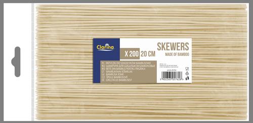 Bambusowe 20 cm 200 szt. (5762)