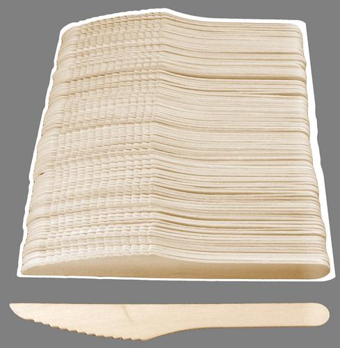 Nóż drewniany 100szt (5445)