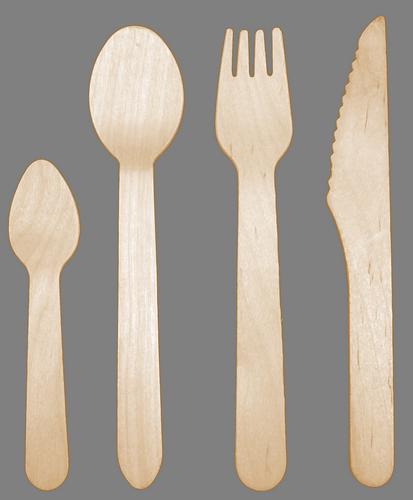 Łyżka drewniana 100 szt (5547)